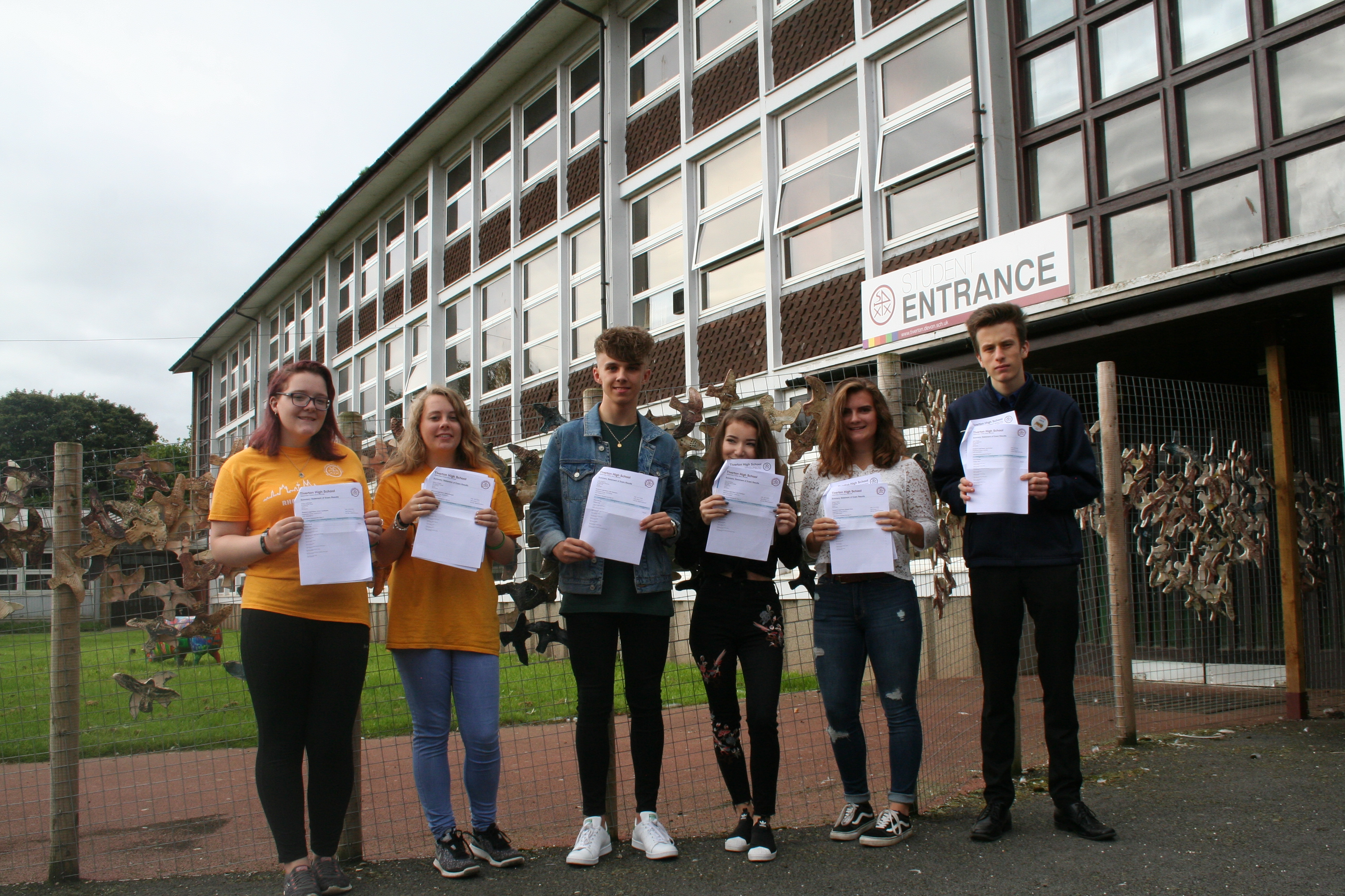 Best ever GCSE results for Tiverton High School - Tiverton High School