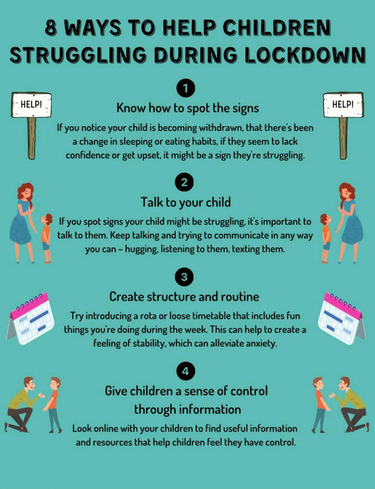 8 ways to help a child in lockdown 1