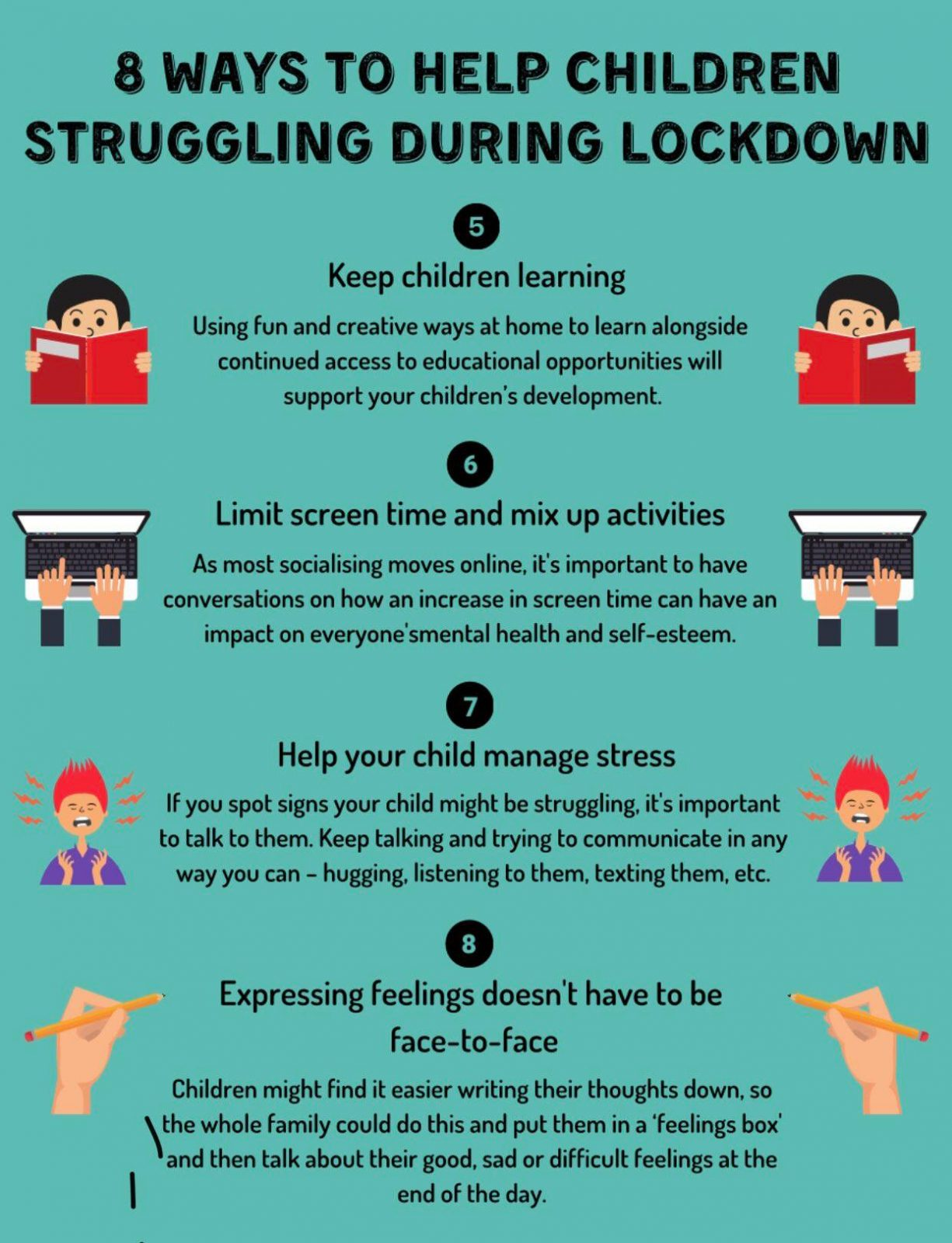 8 ways to help a child in lockdown 2