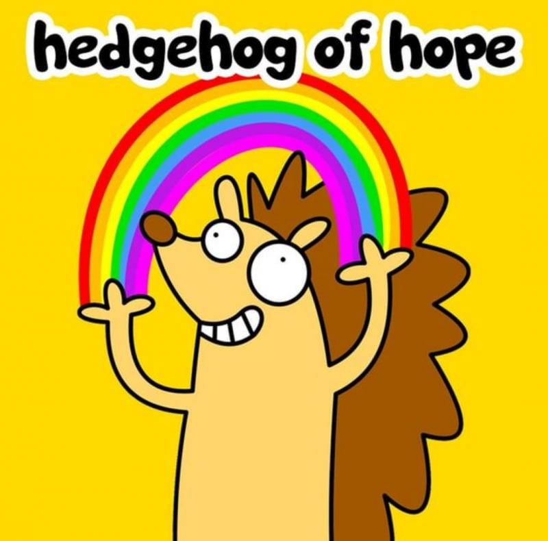 hedgehog of hope